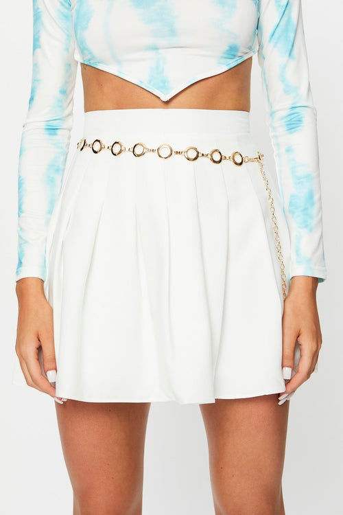 Wide Double Circle Waist and Hip Belt