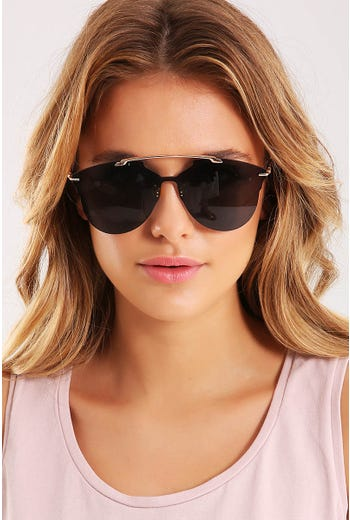 WIRE DETAIL SUNGLASSES